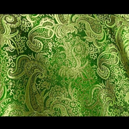 Paisley Metallic Brocade Fabric