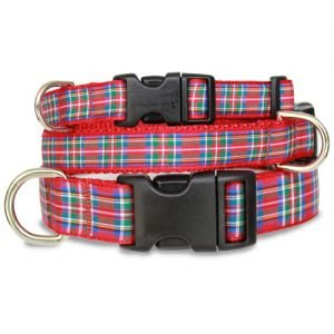 Scottish Plaid Dog Collar
