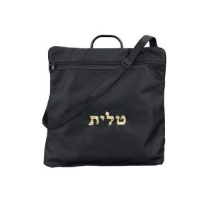 Tallit Tote Bag Rain Proof Black