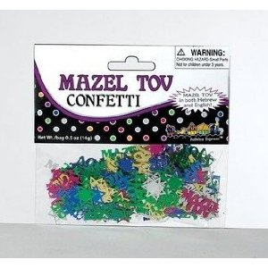 Mazel Tov Multi Color Confetti