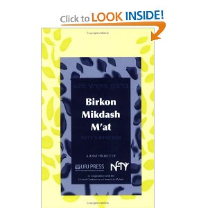 Birkon Mikdash M'at: The NFTY Bencher